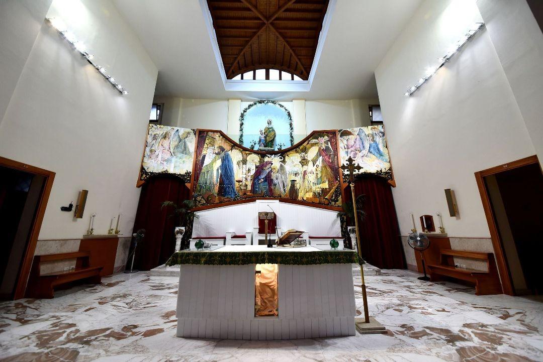 Altare - Santuario Sant'Anna - Caserta