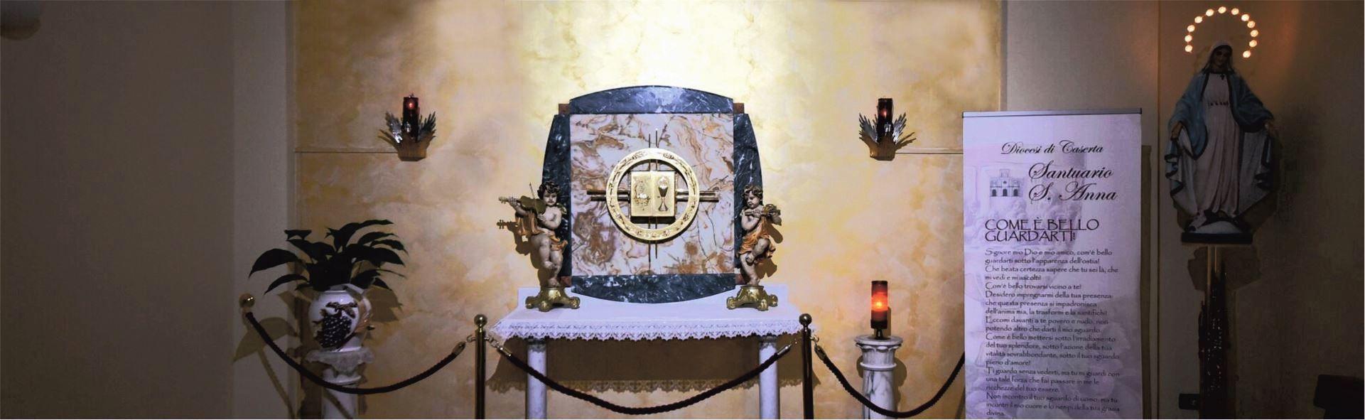 Cappella del Santissimo - Santuario Sant'Anna - Caserta