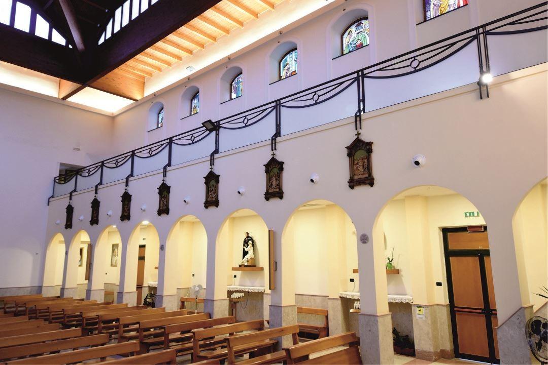 Colonne - Santuario Sant'Anna - Caserta