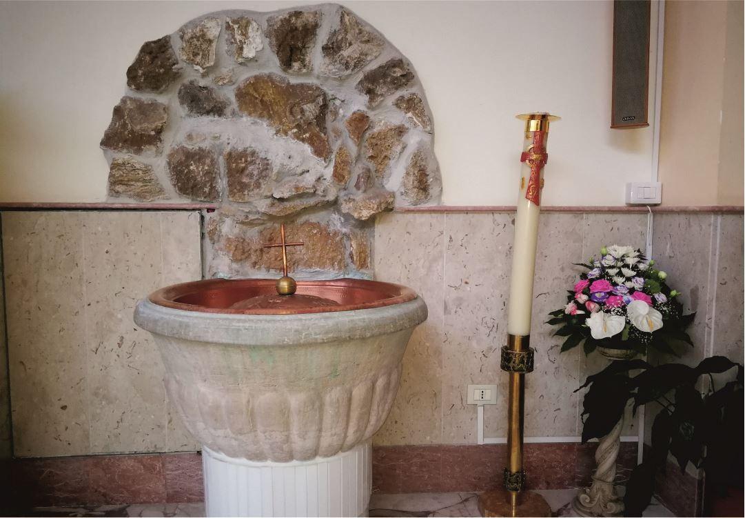 Fonte Battesimale - Santuario Sant'Anna - Caserta