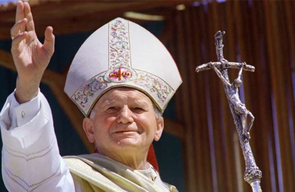 Celebrazione della Confermazioni 2018 - Santuario Sant'Anna di Caserta - Papa Giovanni Paolo II