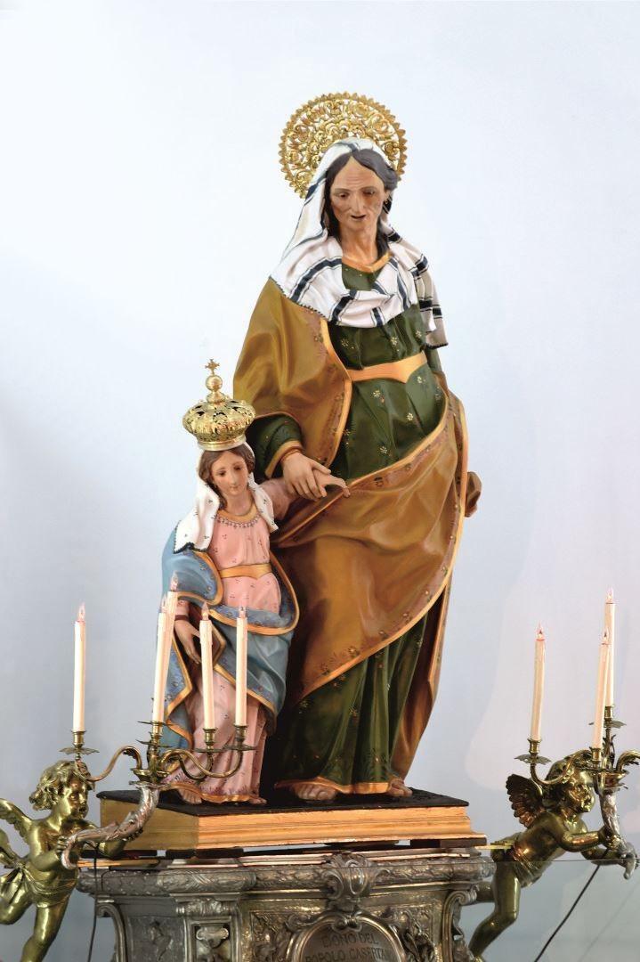 Il Simulacro di Sant'Anna - Santuario di Caserta