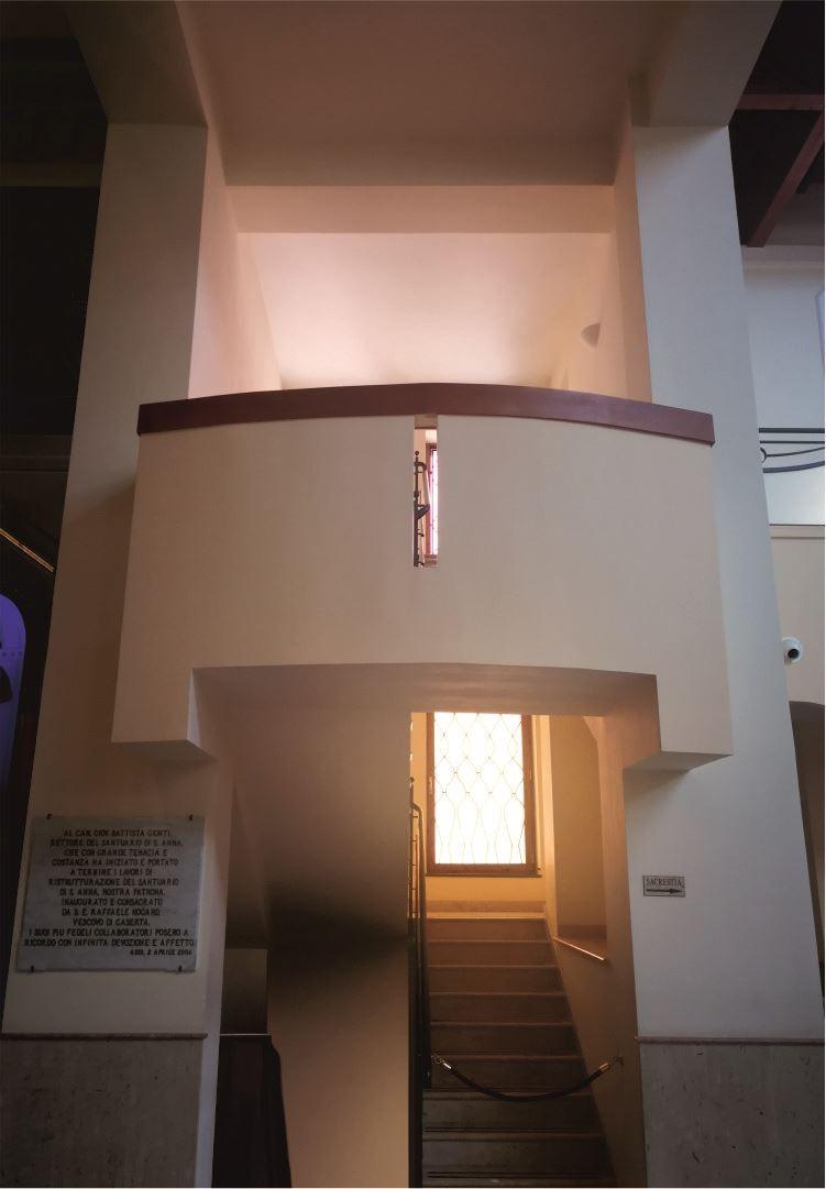 Matroneo - Scala Sinistra - Santuario Sant'Anna - Caserta