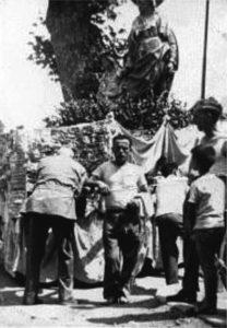 Processione anno 1963 - Galleria Storica del Santuario di Sant'Anna Patrona di Caserta