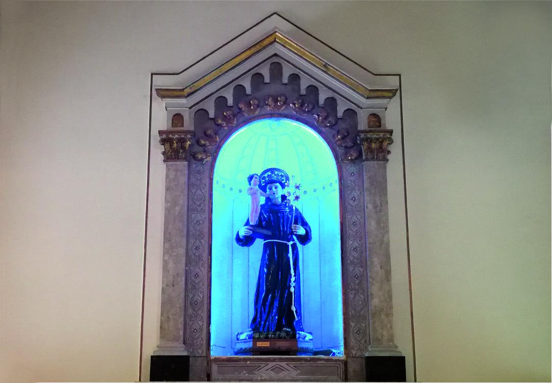Seconda Cappella - Sant'Antonio da Padova - Santuario Sant'Anna - Caserta