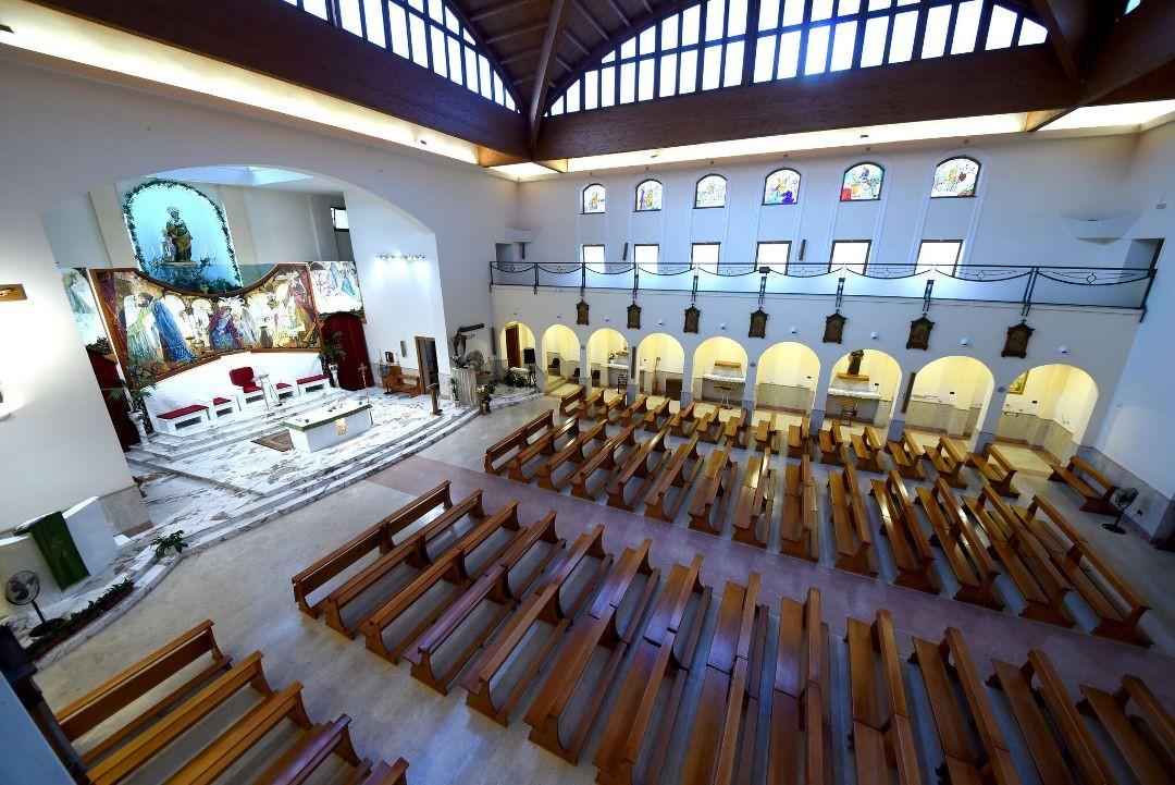Vetrate - Santuario Sant'Anna - Caserta