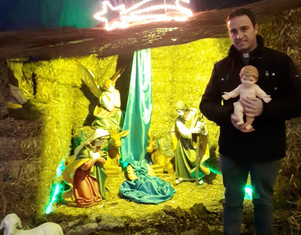 Auguri Natale 2018 don Andrea Campanile - Rettore del Santuario Diocesano Sant'Anna - Caserta