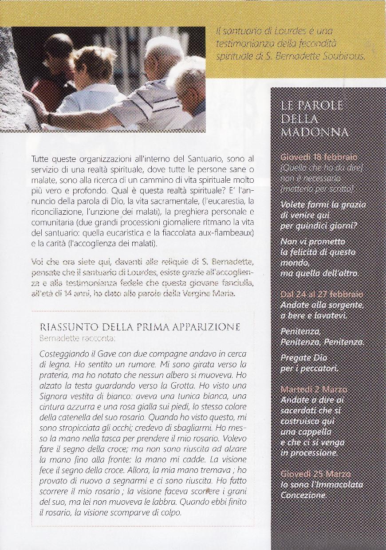 Volantino Santa Bernadette - P3