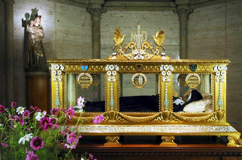 Chasse de Sainte Bernadette